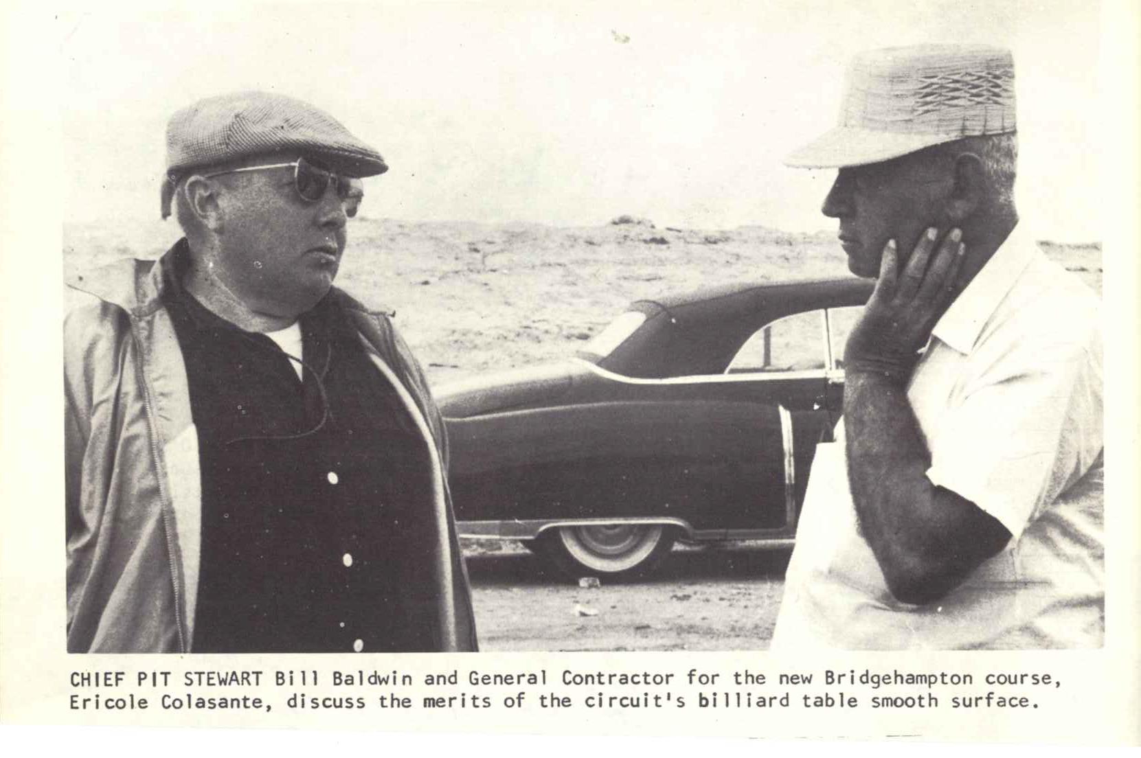 Chief Pit Stewart Bill Baldwin