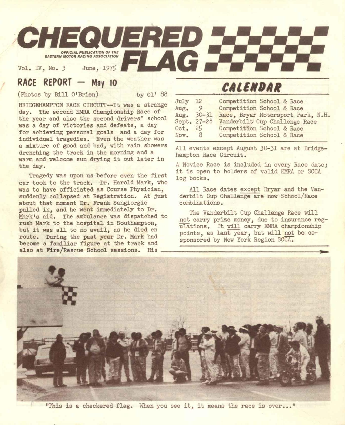 1975 Newsletter